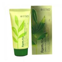 FarmStay Солнцезащ.кр. Green Tea Seed Moisrure Sun Cream SPF50, 70гр