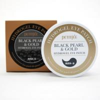 PETITFEE Black Pearl & Gold Hydrogel Eye Patch Гидрогелевые патчи для глаз (60шт)